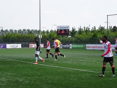VV Brielle verslaat kampioen sc Feyenoord met 4-1