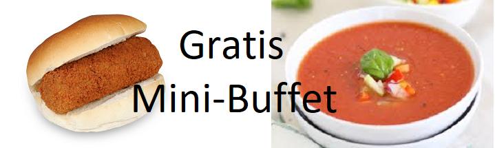 Gratis mini-buffet op dinsdag bij VV Brielle