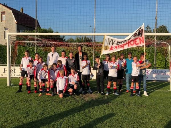 VV Brielle JO13-4 Kampioen
