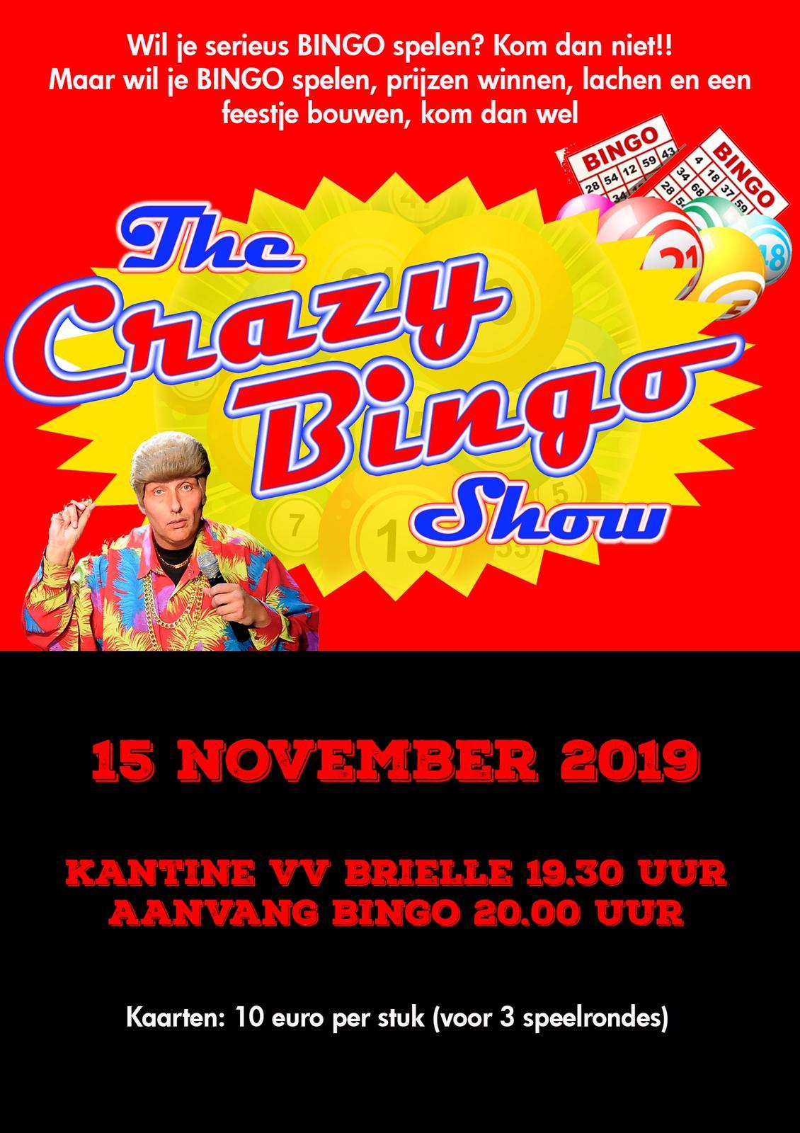 Crazy Bingo Show doorslaand succes