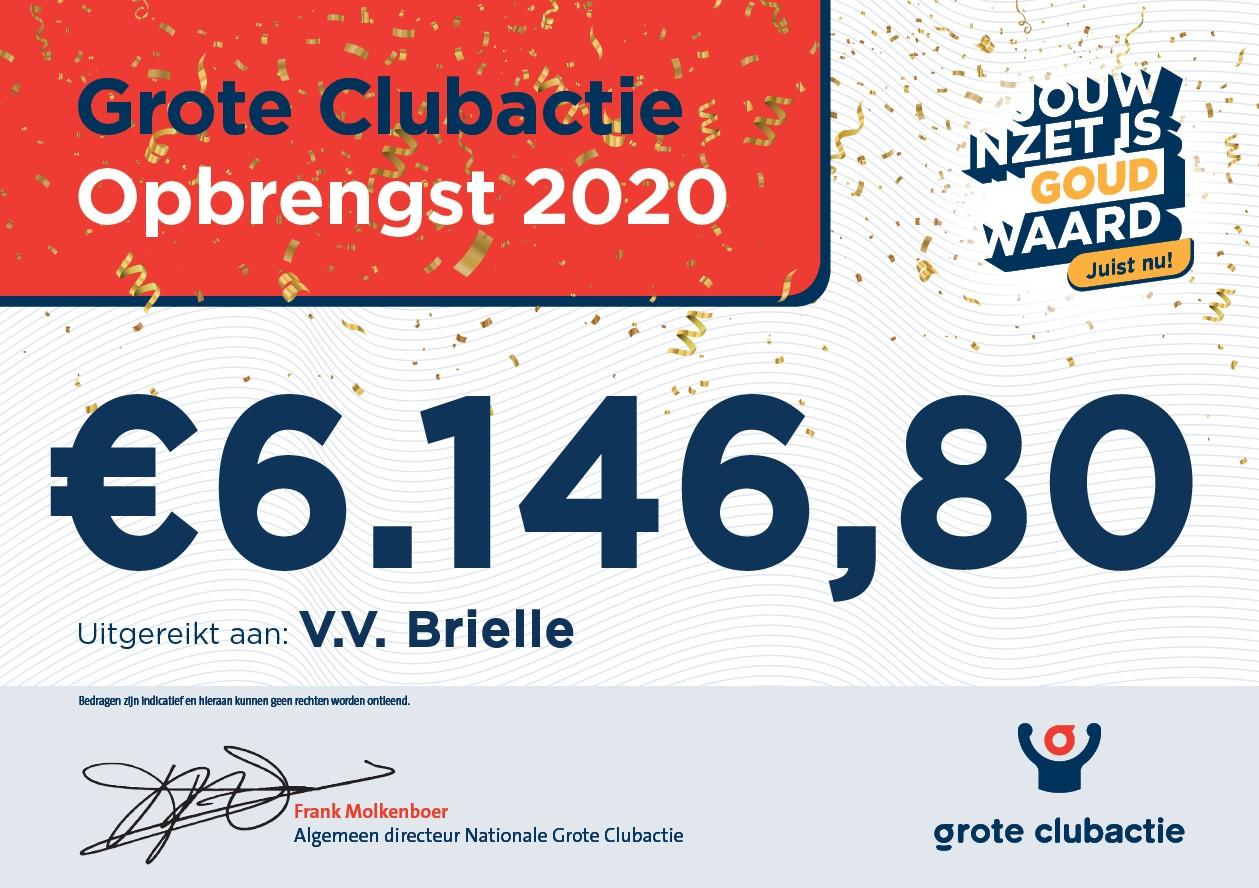 Grote Club actie VV Brielle groot succes