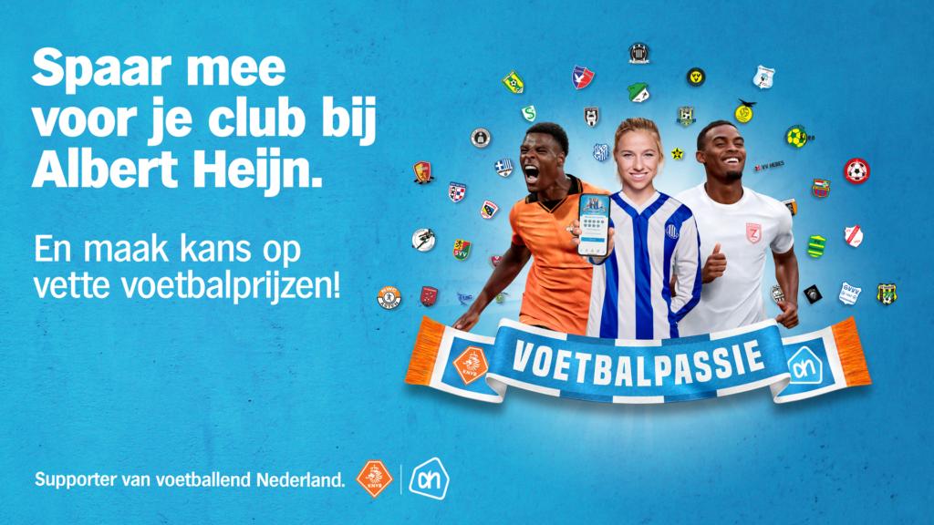 Sponsor VV Brielle via Albert Heijn door voetbalpassie