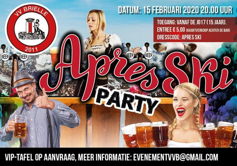 Après Ski Party bij VV Brielle
