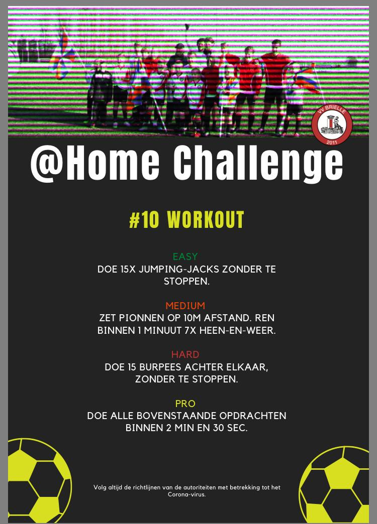 @Home Challenge #10, Workout