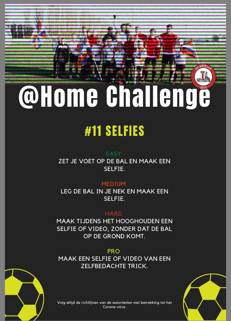 @home Challenge #11, Selfies