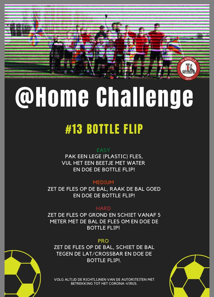 @Home Challenge #13, Bottle Flip