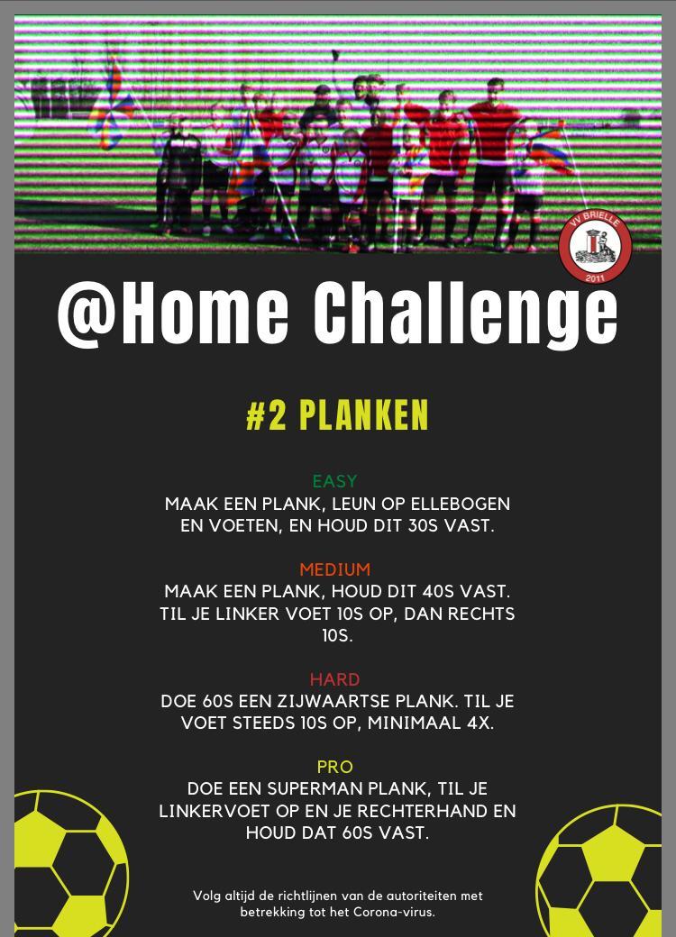 @Home Challenge #2, Planken