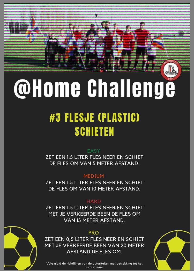 @Home Challenge #3, Flesje schieten