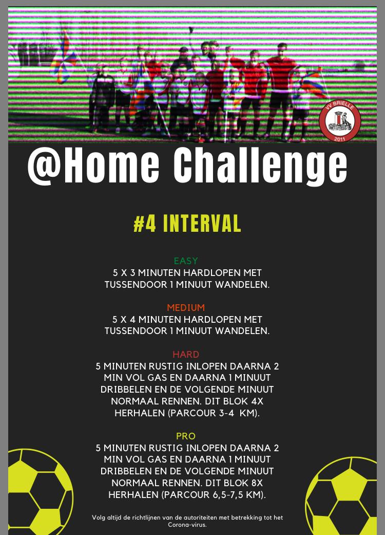 @Home Challenge #4, Interval
