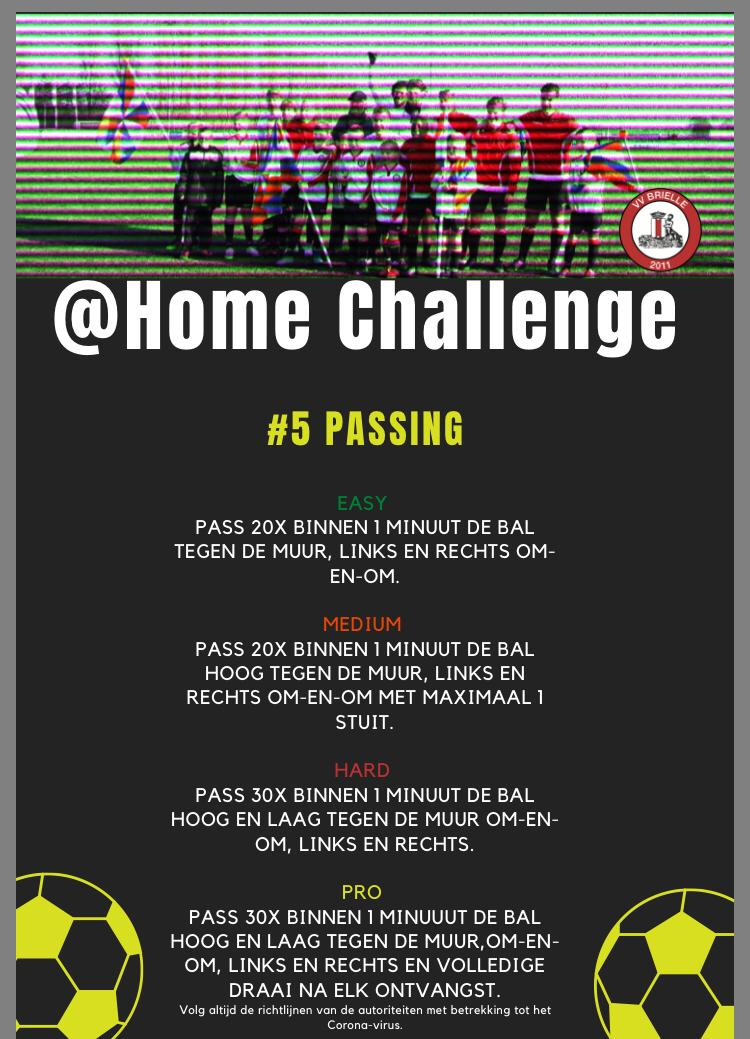 @Home Challenge #5, Passing