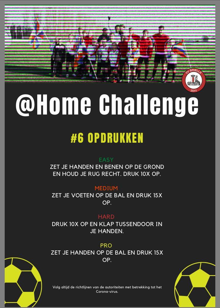 @Home Challenge #6, Opdrukken