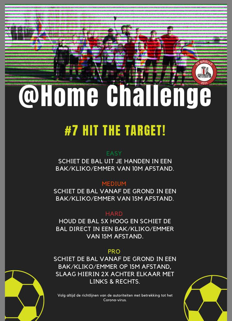 @Home Challenge #7, Hit the target!