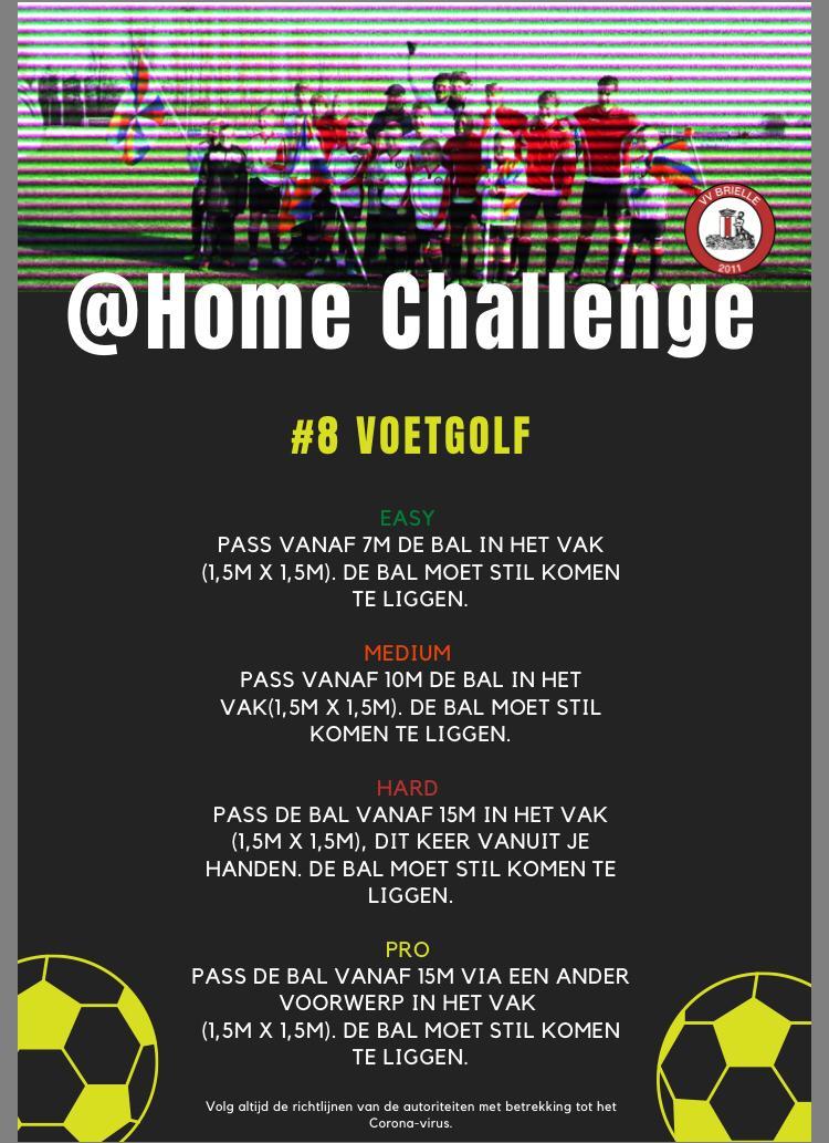 @Home Challenge #8, Voetgolf