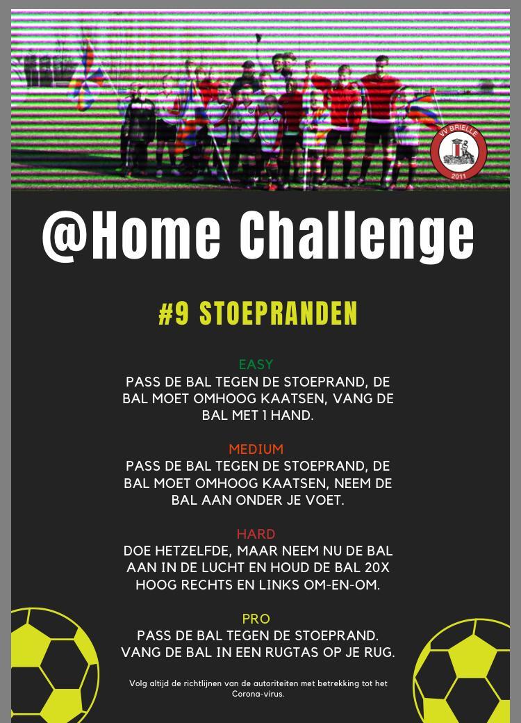 @Home Challenge #9, Stoepranden
