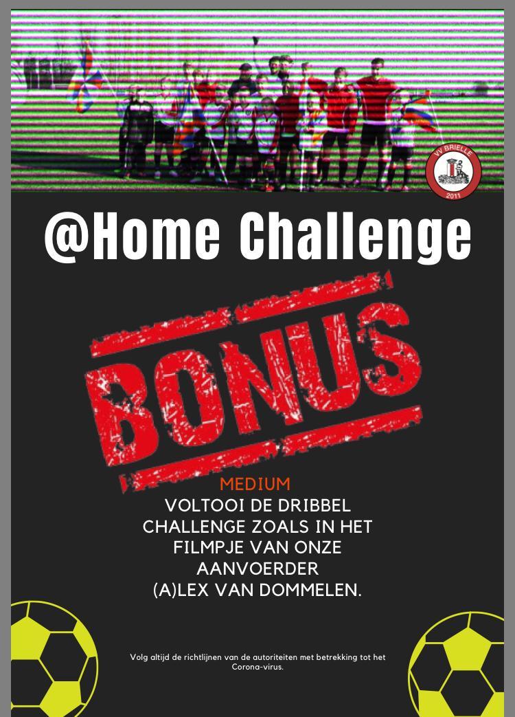 @Home Challenge #Bonus