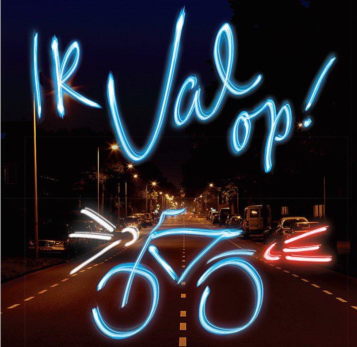 Controleer de fietsverlichting bij de fiets van uw kind