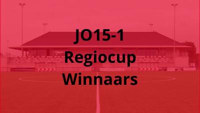 JO15-1 Regiocup-Winnaars