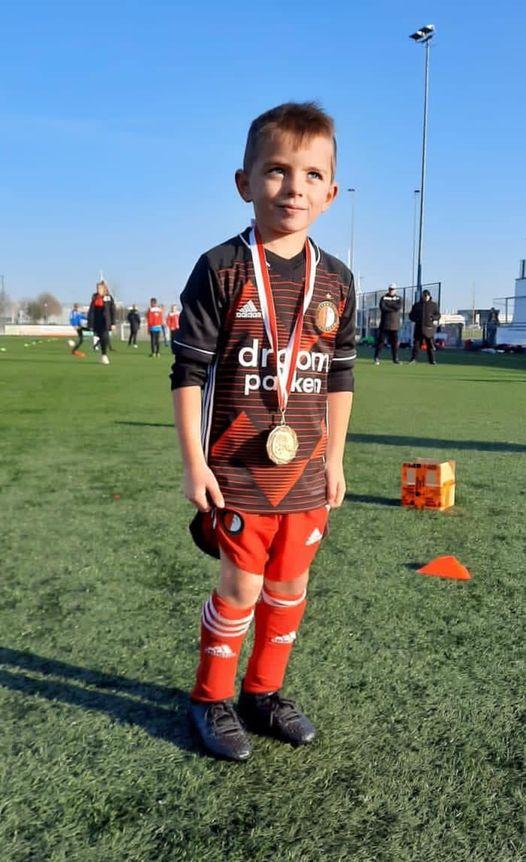 Trainingsstage Mex Dekkers bij Feyenoord Academy
