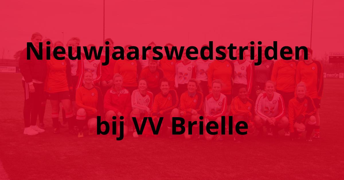 Nieuwjaarswedstrijden bij VV Brielle