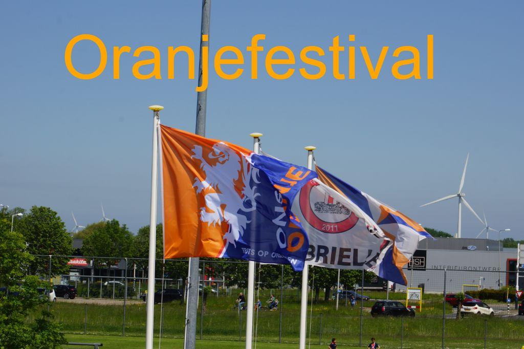 Oranjefestival VV Brielle groot succes
