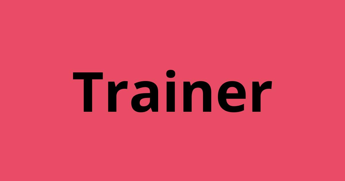 Ben jij de nieuwe trainer naar wie wij op zoek zijn ?