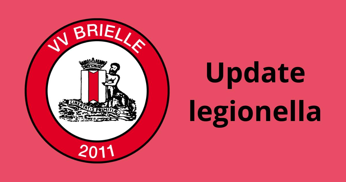 Geen legionella meer in de leidingen bij VV Brielle