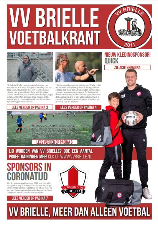 VV Brielle voetbalkrant