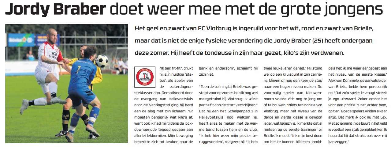 Jordy Braber en Melvin Spruijt in Voetbaljournaal