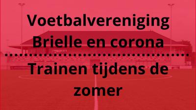Voetbalvereniging Brielle en corona