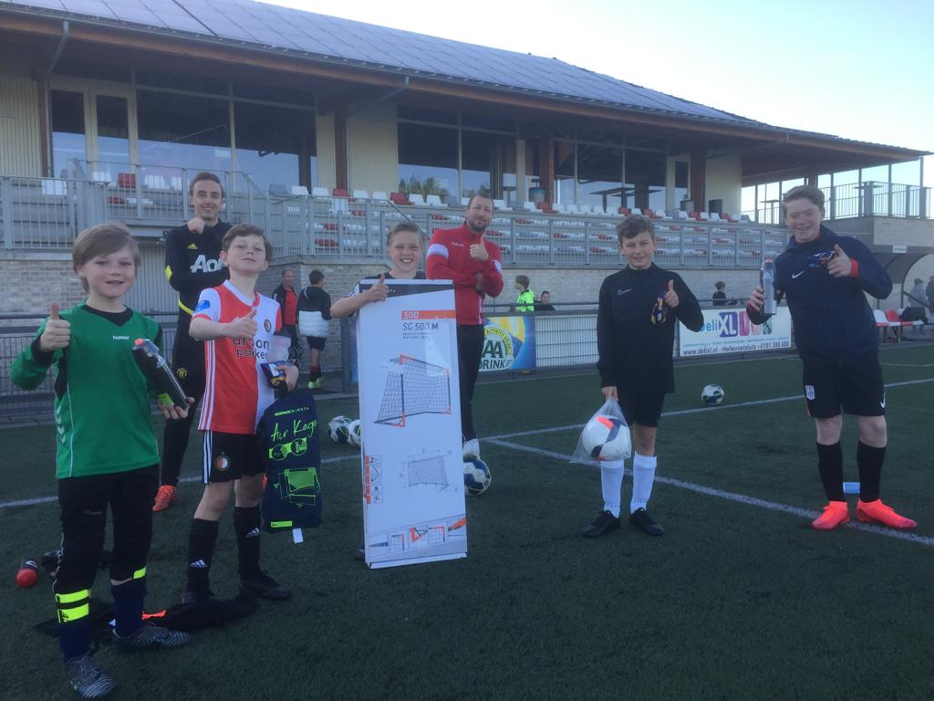 Winnaars @Home Challenge VV Brielle